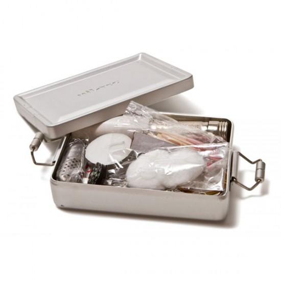 MIL-TEC Πλήρες Κιτ Επιβίωσης σε Κουτί Αλουμινίου